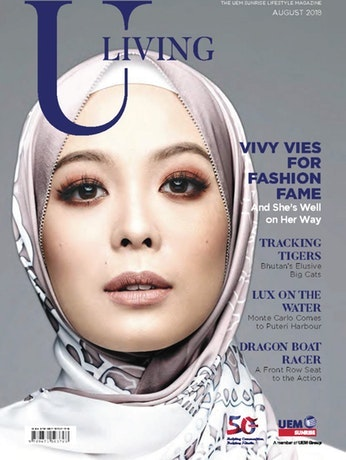 U Living magazine cover image