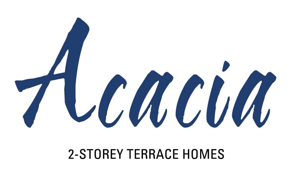 Acacia 2 Storey Terrace Homes Logo