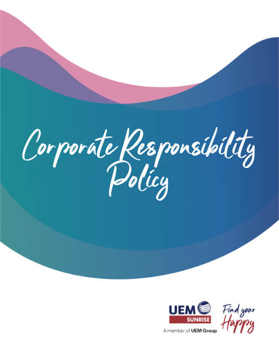 UEM Sunrise Policy Corporate Responsibility Policy