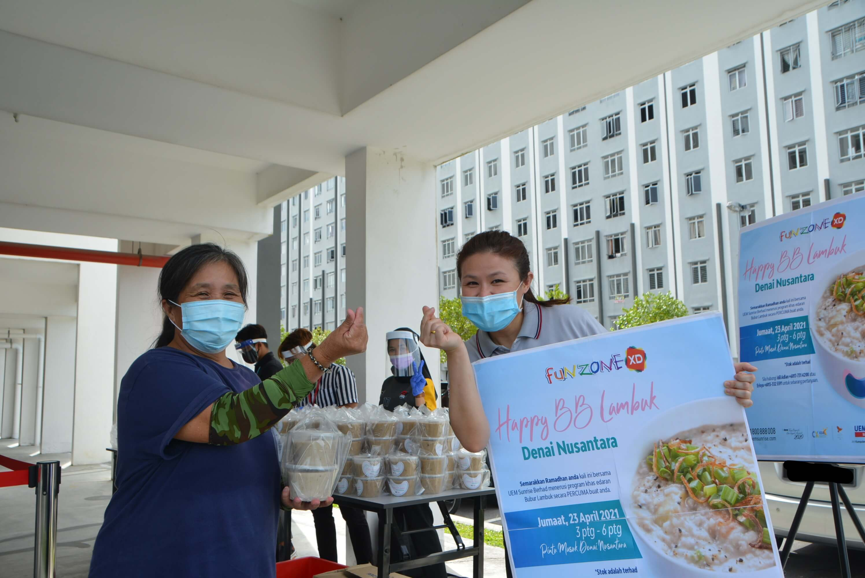 UEM Sunrise Shares Delicious Happy BB Lambuk With Denai Nusantara Community