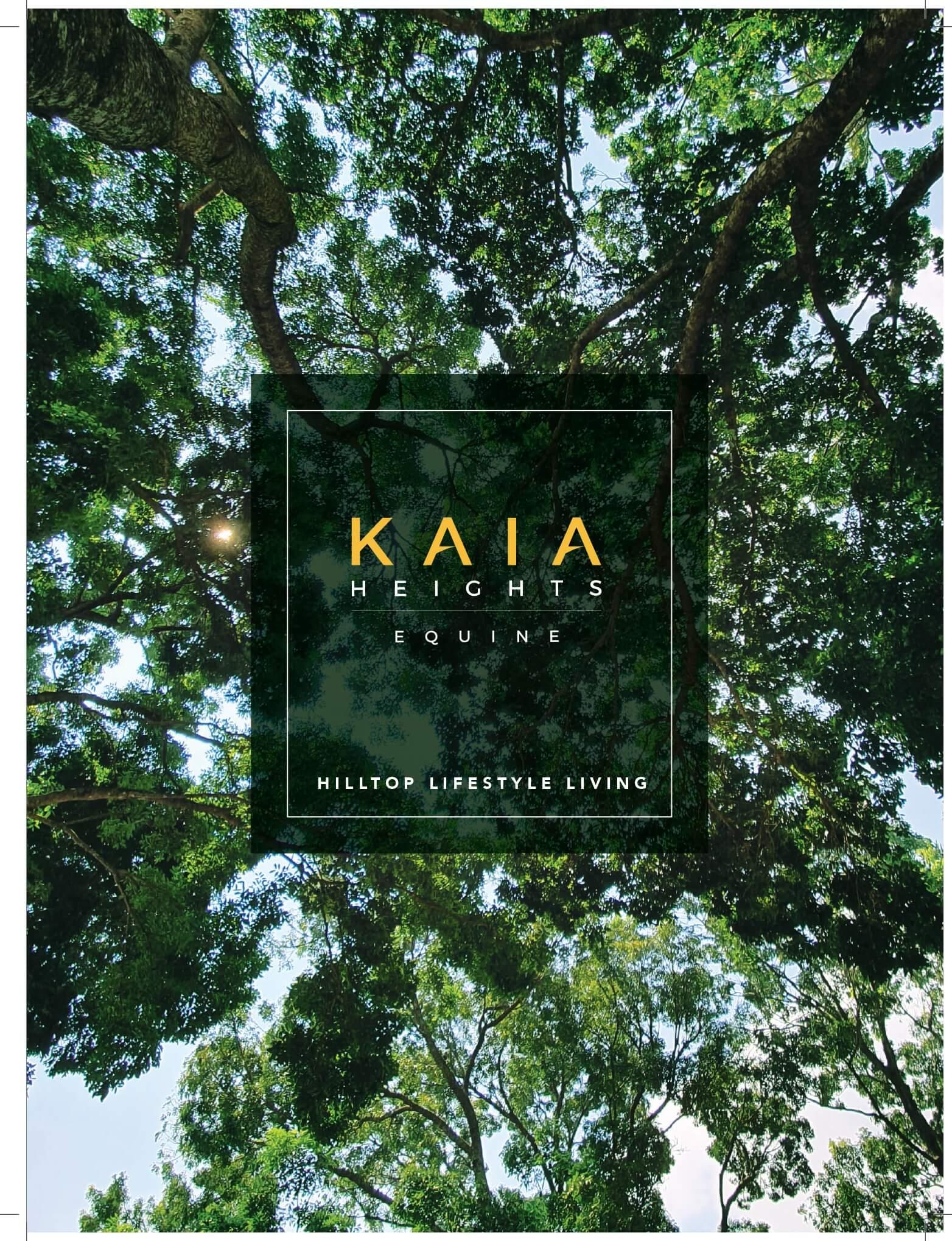 UEM Sunrise KAIA Heights Brochure