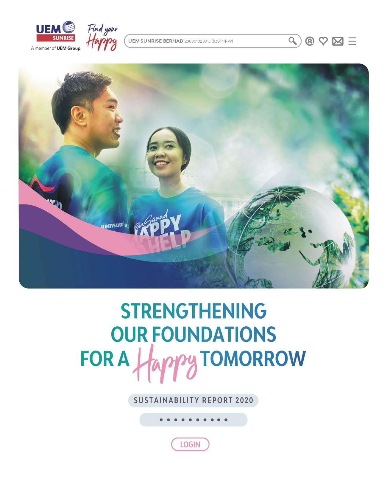 UEM Sunrise Sustainability Report 2020