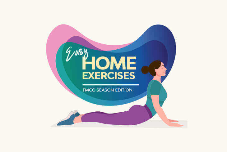Simple Exercises to Stay Active while Working from Home